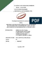 Informe de Localizacion de Puntos Criticos en Contamninacion