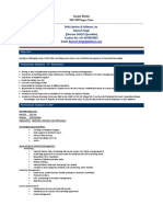Sanjay Dhoke SAP MM Super User - Resume