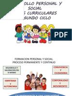 Desarrollo Personal y BASES CURRICULARES 2018 (1)