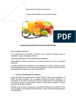 Factores q Alteran El Estado Nutricional