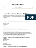 Practice Questions for Computer Sciences Page 2