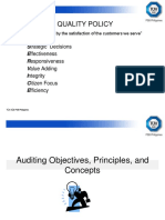 IQA Objectives & Auditors