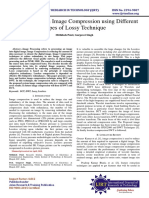 Survey Paper on Image Compression using Different Types of Lossy Technique
