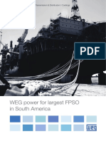 WEG Weg Power for Largest Fpso in South America 00 Case Study English