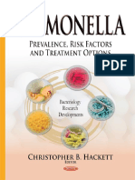 Christopher B. Hackett - Salmonella_ Prevalence, Risk Factors and Treatment Options (2015, Nova Science Publishers Inc)