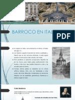 Barroco en Italia