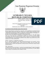 Perubahan Usia Pensiun Pegawai Swasta