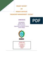 Bookshop Management System