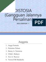 15. DISTOSIA