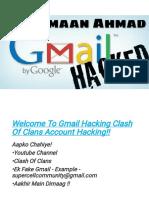 Hack 5000+ Gmails Accounts COC Accounts - Amaan Ahmad