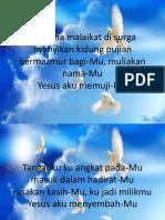 2.Bersama Malaikat Di Surga