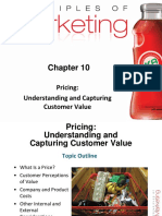 Ch # 10, Pricing