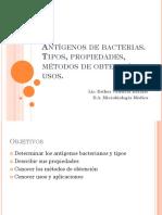 Antigenos bacterianos