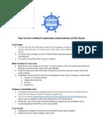 Important Tips CKA 1 6