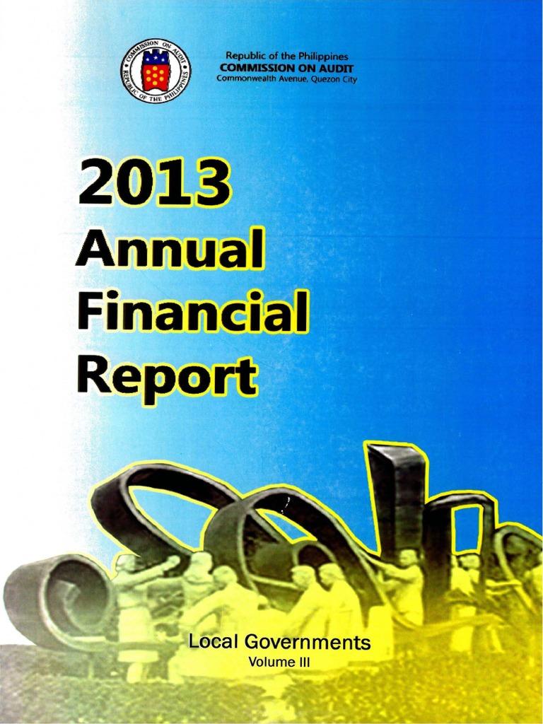 2013 afr lgus vol3 pdf revenue audit