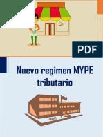 Informe - Regimen Mype Tributario