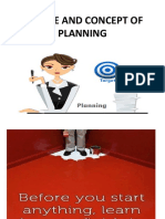 Nature of Planning