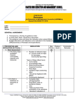 Barangay DRRMC Checklist