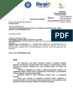 Specificatii Tehnice Dorf Lucrari SEMNAT