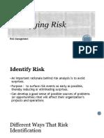 # 3 Risk Identification