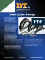Dt Center Support Bearings Flyer