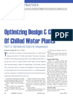 ASHRAE Journal - Optimizing Design Control of Chilled Water Plants Part 5 Optimized Control Sequences