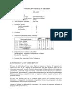 Silabo Informatica I - Minas - 2011-1