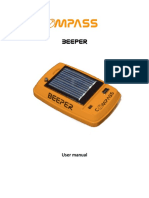 Beeper User Manual Provv