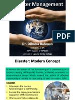 Final Disaster Management