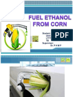 Fuel Ethanol From Corn