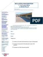 Bulletin d'Inscription Deauville 2018