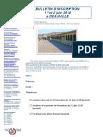 Bulletin d'Inscription Deauville 2018