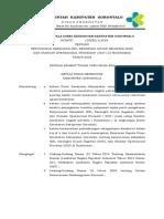 Sk Kadis Penyusunan Sk,Sop,Kak Untuk Pkm 2018