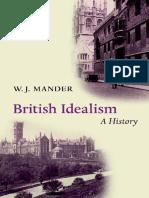 British Idealism a History