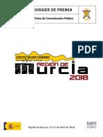 Dossier Prensa Ejercicio conjunto combinado - Región de Murcia 2018
