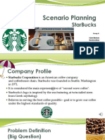 Scenario Planning StarBucks PPT
