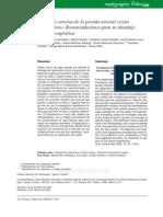 Elevacion Extrema de La Presion Arterial Recomendaciones Para Su Abordaje Clinico-terapeutico