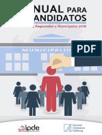 Manual Para Candidatos- Elecciones Regionales y Municipales - 2018