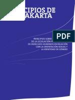 Principios de Yogyakarta sobre la aplicación de los DDHH a la orientación sexual y la identidad de género