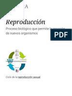 Reproducción - Wikipedia, La Enciclopedia Libre