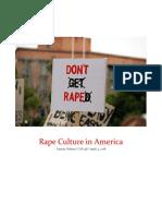 Rape Culture in America