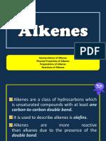 Alkene and Alkynes