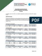 PUBLICACIÓN Resultados Beca Formación 2do Llamado