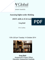 9 - Greg Reid - Assessing HOT Skills in ICAS