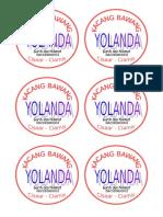 Kacang Bawang Yolanda