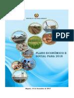 Plano Economico Social 2018 Versao Aprovada AR 14Dez2017
