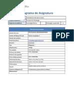 Programa Psicologia Organizacional 2018 Vr4