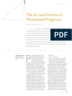 The Art and Science of Periodontal Prognosis