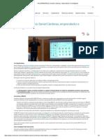 #ConRENATAharía  Daniel Cárdenas, Emprendedor e Investigador