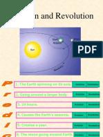rotation and revolution-seasons north